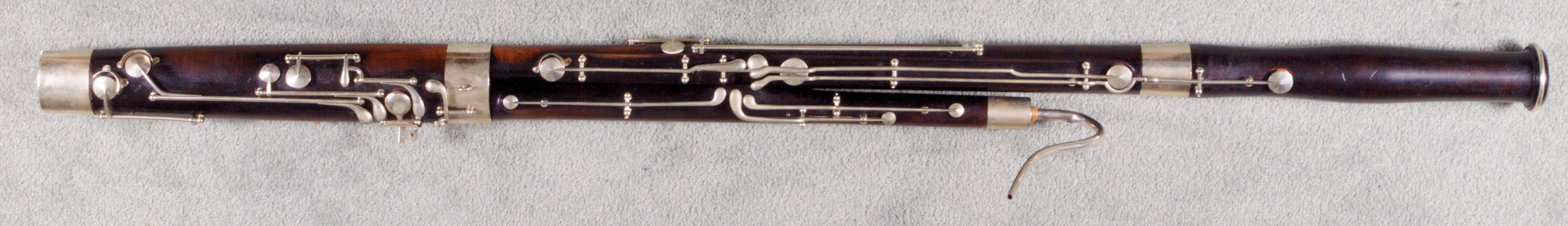 Greg's Heckel Bassoon, serial number 3620